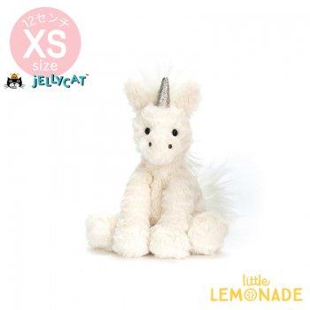 【Jellycat ジェリーキャット】 Fuddlewuddle Unicorn ユニコーン 12cm ぬいぐるみ(FWB6U)