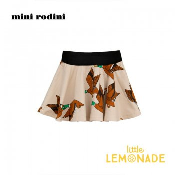 【Mini Rodini】 カモ柄 スカート 【116/122】 5-7歳    Ducks aop skirt SALE