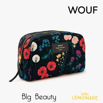 【WOUF】化粧品ポーチ 【Blossom】 Big Beauty 花柄(WOOUF!) (MB180006)