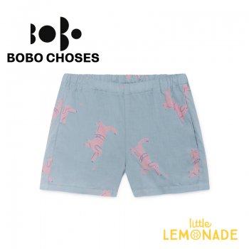 【BOBO CHOSES】 Dogs Shorts ショートパンツ 【4-5歳/6-7歳】ボトムス ベビー 子供服  半ズボン 119062 SS SALE