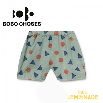 【BOBO CHOSES】 Pollen Shorts  【6M/12M/24M/36M 】ベビー服 ショートパンツ 短パン 119192 SS SALE