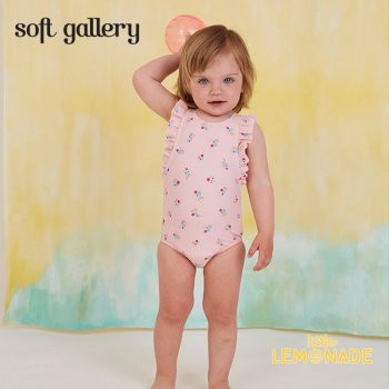【Soft gallery ソフトギャラリー】SWIMSUIT BABY ANA frills and gold logo/24M【2019SS】(457-432-808)