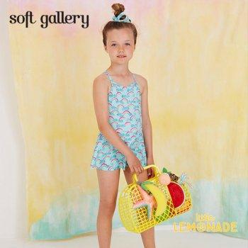 【Soft gallery】レインボーデザイン ワンピース 水着 【4歳】 SWIMSUIT AIMI 虹 rainbow (447-354-794) SS SALE