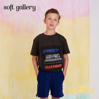 ◆20%OFF◆【Soft gallery ソフトギャラリー】T-SHIRT ASGER  machine print  デザイン Tシャツ/2歳〜6歳【2019SS】(452-094-580)