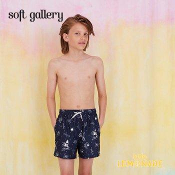 【Soft gallery】 宇宙デザイン トランクスタイプ 水着 【4歳/6歳/8歳】 SWIM PANTS DANDY ショートパンツ(803-477-805) SS SALE