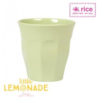 【RICE】メラミンカップ/ライトグリーン ミディアムサイズ 9cm (MELCU-MI)