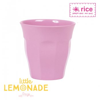 【RICE】メラミンカップ/ライトピンク ミディアムサイズ 9cm (MELCU-I07)