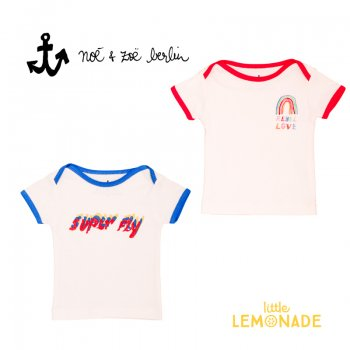 【Noe & Zoe】 SUPER FLY/RAINBOW  半袖 Tシャツ【18-24m】 ベビー 子供服 (S19018) SS SALE