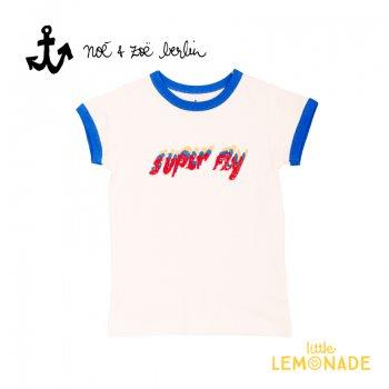 【Noe & Zoe】 SUPER FLY 半袖 Tシャツ 【4歳/6歳/8歳】 子供服 トップス 夏服 (S19020) SS SALE