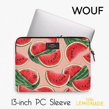 【WOUF】13インチ PCケース 【Watermelon】 スイカ パソコン用スリーブ(WOOUF!) (S190002)
