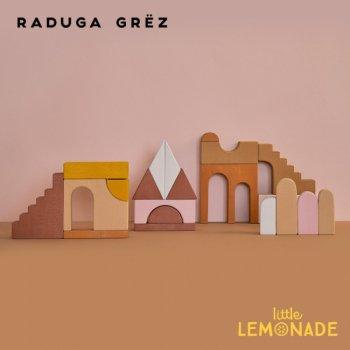 【Raduga Grez】 ビルディングブロック セット ロシア製 積み木 木製 おもちゃ おうち 建築  Apartment building  RG01006