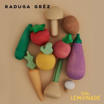 【Raduga Grez】 ベジタブル 10セット 野菜 ロシア製 積み木 木製 おもちゃ 自然 おままごと 【Vegetables set】 RG02003