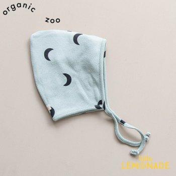 【organic zoo】 お月さま柄 ベビー ボンネット 帽子 ハット 新生児/3か月/6か月/12か月 Midnight Pixie Hat オーガニックズー MPIXIE