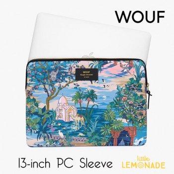 【WOUF】 13インチ PCケース【Delhi】  パソコン用スリーブ パソコンケース インド デリー  (S200001)