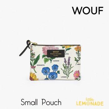 【WOUF】 スモールポーチ 【Botanic】 花柄 ボタニック ボタニカル フラワー 植物 花おしゃれ  ミニポーチ 小物入れ  (MS200008)