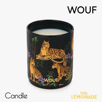 【WOUF】フレグランス キャンドル Savannah Moon (サイプレス,カルダモン,パチョリ,ムスク)  Vegetable Wax Candle