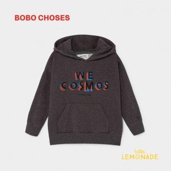 【BOBO CHOSES】 WE COSMOS HOODED パーカー 【4-5歳/6-7歳/8-9歳】 フード付き スウェットシャツ ボボショーズ AW