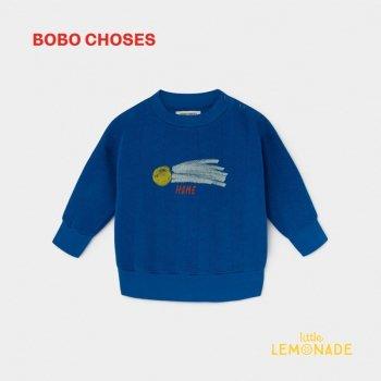【BOBO CHOSES】 A STAR CALLED HOME SWEATSHIRT 流れ星 デザイン スウェット 12M/24M/36M  ベビー服 ボボショーズ   AW