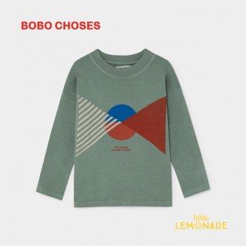 【BOBO CHOSES】 フラッグ ロングスリーブTシャツ 【4-5歳/6-7歳】 FLAG LONG SLEEVE T-SHIRT  ボボショーズ  AW