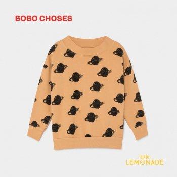 【BOBO CHOSES】 BIG SATURN トレーナー 【6-7歳】 ビッグサターン スウェットシャツ ボボショーズ  AW