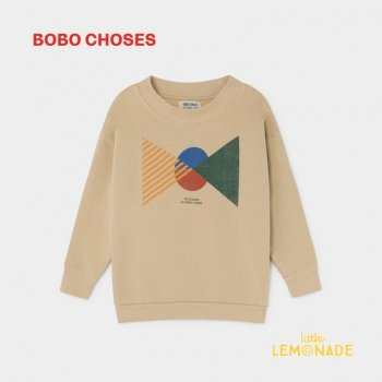 【BOBO CHOSES】 フラッグ スウェットシャツ 【4-5歳/6-7歳/8-9歳】 FLAGS SWEATSHIRT  ボボショーズ  AW