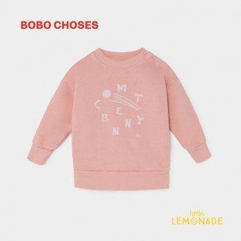 【BOBO CHOSES】 COMET BENNY SWEATSHIRT 彗星ベニー 12m/24M/36M ベビー服 ボボショーズ  AW