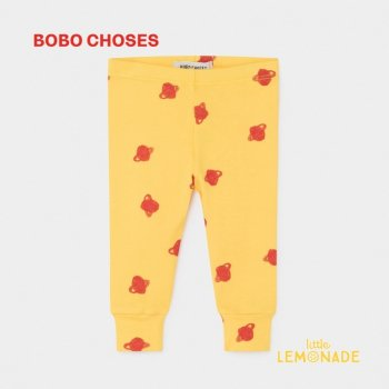 【BOBO CHOSES】 レギンス ALL OVER SMALL SATURN LEGGINGS 12M/24M/36M 土星デザイン ボボショーズ  AW