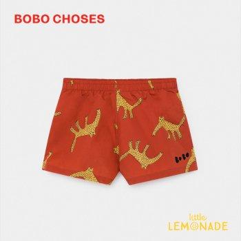 【BOBO CHOSES】水着 トランクスライプ Leopards Swim Shorts 【4-5歳/6-7歳/8-9歳】 男の子 スイムショーツ 12001167 20SS SALE