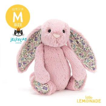 【Jellycat ジェリーキャット】 Mサイズ Blossom Tulip Bunny  バニー ぬいぐるみ 【花柄 ピンク プレゼント お祝い うさぎ】BLN3BTP