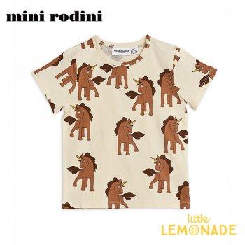 【Mini Rodini】ユニコーン 半袖 Tシャツ【9か月-1.5歳/1.5-3歳/3-5歳/5-7歳】 子供服 Unicorns(20220120) 20SS SALE