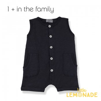 【1+ in the family】 ロンパース TROIA romper 【9か月/12か月/18か月】BLUE NOTTE ユニセックス (376411331) 20SS  SALE
