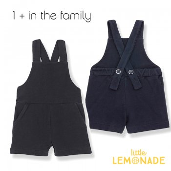【1+ in the family】ショート丈 オーバーオール CEFALU short overall 【12か月/18か月/24か月/36か月】 (376414201) 20SS  SALE