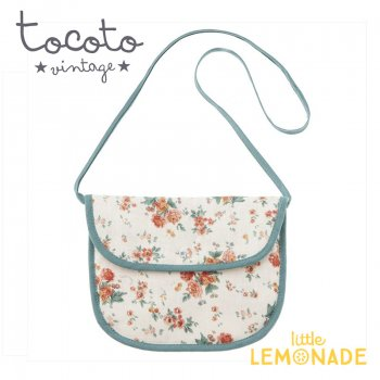 【Tocoto Vintage】Flowers shoulder little bag  花柄 ポシェット 肩掛けバッグ(S72920) 20SS SALE