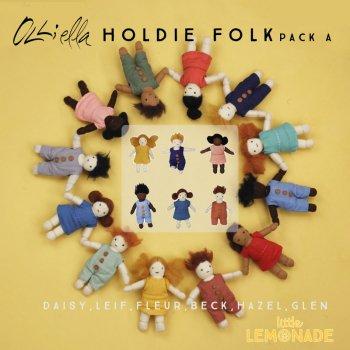 【Olli Ella オリエラ】Holdie Folk ぬいぐるみ6人セット 子供用 おままごと お人形 ぬいぐるみ  リトルレモネード