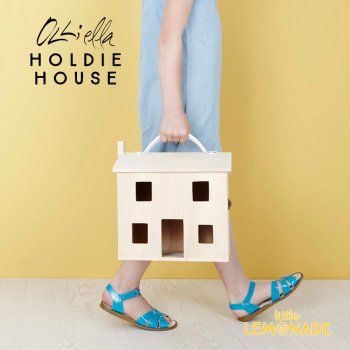 【Olli Ella オリエラ】HOLDIE HOUSE ドールハウス お人形 シンプル おままごと ぬいぐるみ  リトルレモネード (OEKTOY-HOL-NA-O)