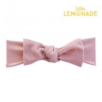 【niva】メッシュのリボンヘアバンド/ピンク ヘアバンド ヘアアクセサリー ターバン ピンク 女の子 出産祝い リトルレモネード(269PNK)