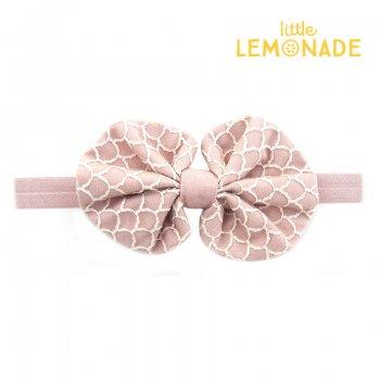 【niva】マーメイドヘアバンド  ヘアバンド ヘアアクセサリー ターバン ピンク 女の子 出産祝い リトルレモネード(229PNK)