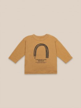 【BOBO CHOSES】 Straight Line Bender Long Sleeve T-Shirt 【12-18M/18-24M/24-36M】 長袖 子供服 22000005 20AW