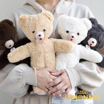 【Les Petites Maries】Ours Toinou Brown bear くまのぬいぐるみ シリアルナンバー付 76940 75820 75820 75820