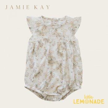 【Jamie Kay】 CLARA PLAYSUIT- ESME FLORAL 3-6か月/6-12か月/1歳】 花柄 ロンパース ワンピース (JK20CLARAEF)