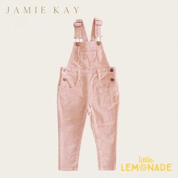 【Jamie Kay】 JORDIE OVERALL- DAINTY 【1歳/2歳/3歳/4歳】 ブラッシュピンク オーバーオール コーデュロイ (JK20JORDIED)