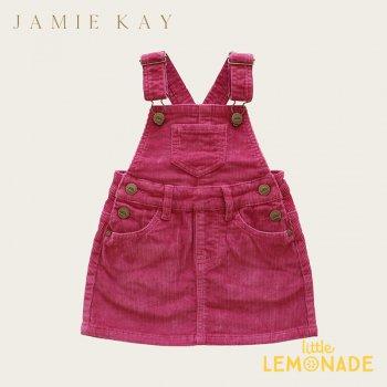 【Jamie Kay】 CORD CHLOE OVERALL DRESS - BLOSSOM 【1歳/2歳/3歳】 ブロッサムピンク ジャンパースカート (JK20CHLOE)