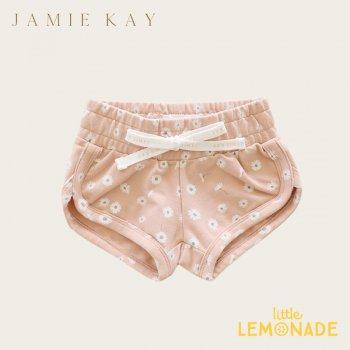 【Jamie Kay】 IVY SHORTIE -DAISY PRINT 【1歳/2歳/3歳】 デイジープリント ショートパンツ ショーツ (JK20IVY)
