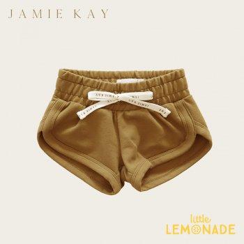 【Jamie Kay】 IVY SHORTIE -GOLD 【1歳/2歳/3歳】 ゴールド ショートパンツ ショーツ 半ズボン (JK20IVY)