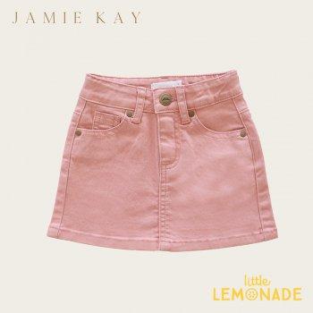【Jamie Kay】 Mini Denim - Rose【1歳/2歳/3歳】 ローズ ピンク スカート ミニスカート デニム