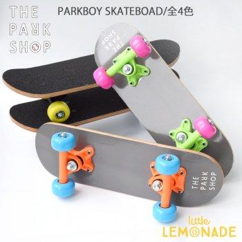 【THE PARK SHOP】 PARKBOY スケートボード【ホワイト】 PARKBOY SKATEBOARD white (PSG-09)