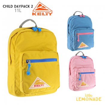 【KELTY】 CHILD DAYPACK 2.0 チャイルドデイパック バックパック リュック  2592124 【PEACH/SKY/MUSTARD】