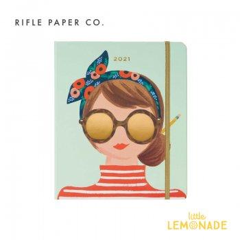 2020年8月はじまり【2021年 スケジュール帳 】 RIFLE PAPER ワンダーガール・スケジュールブック/2021 Wonder Girl(PLM020) 手帳
