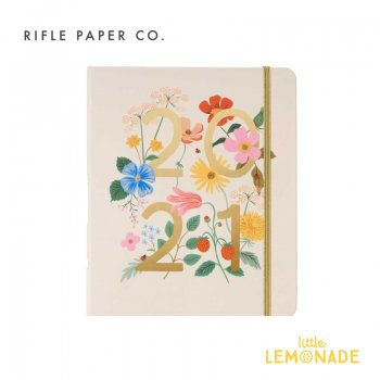 2020年8月はじまり【2021年 スケジュール帳 】 RIFLE PAPER ワイルドガーデン・スケジュールブック/2021 WILD GARDEN(PLM021) 手帳