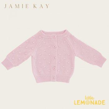 【Jamie Kay】 DOTTY CARDIGAN - LILAC 【2歳/3歳/4歳/5歳/6歳】 ニット カーディガン ライラック ドット ジェイミーケイ